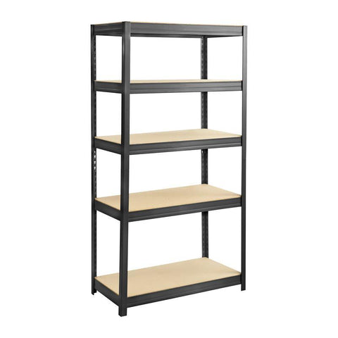 Safco 6245BL Boltless Steel and Particleboard Shelving 36x18 - Peazz Furniture