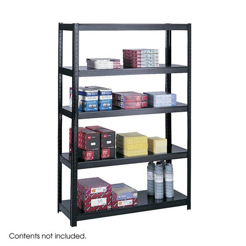 "Safco 5246BL 48"" Wide 18"" Deep Boltless Shelving - Peazz Furniture"
