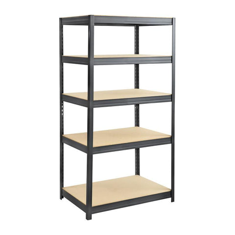 Safco 6247BL Boltless Steel and Particleboard Shelving 36x24 - Peazz Furniture