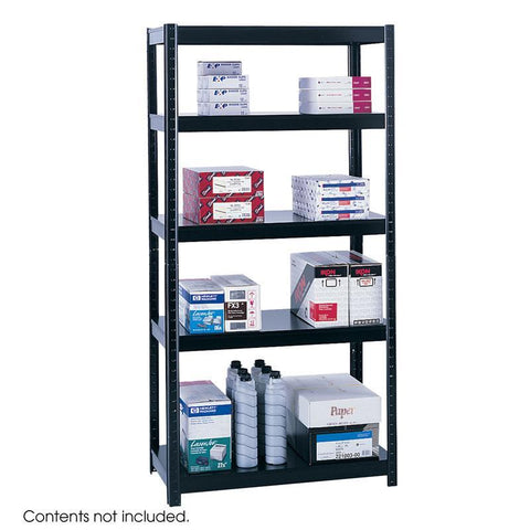 "Safco 5245BL 36"" Wide 18"" Deep Boltless Shelving - Peazz Furniture"