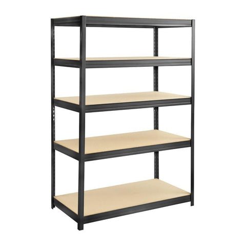 Safco 6244BL Boltless Steel and Particleboard Shelving 48x24 - Peazz Furniture