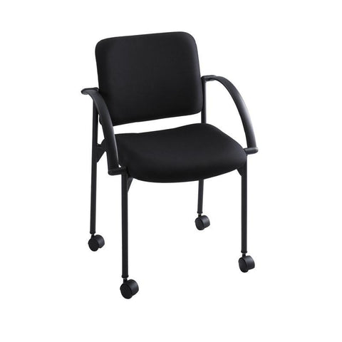 Safco 4184BL Moto™ Stack Chair (Qty.2) - Safcomart