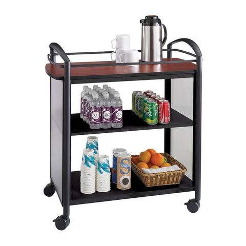 Safco 8967BL Impromptu® Beverage Cart - Peazz Furniture