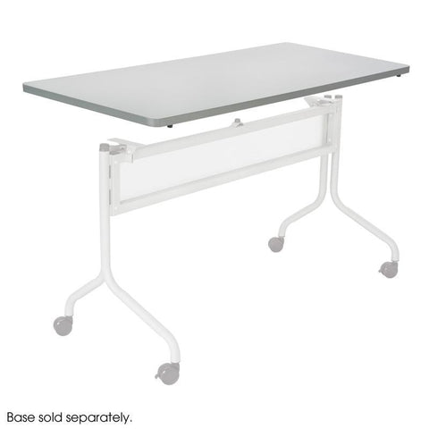 Safco 2066GR Impromptu® Mobile Training Table Rectangle Top 60x24 - Safcomart
