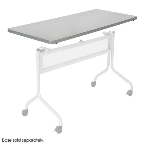 Safco 2065GR Impromptu® Mobile Training Table Rectangle Top 48x24 - Safcomart