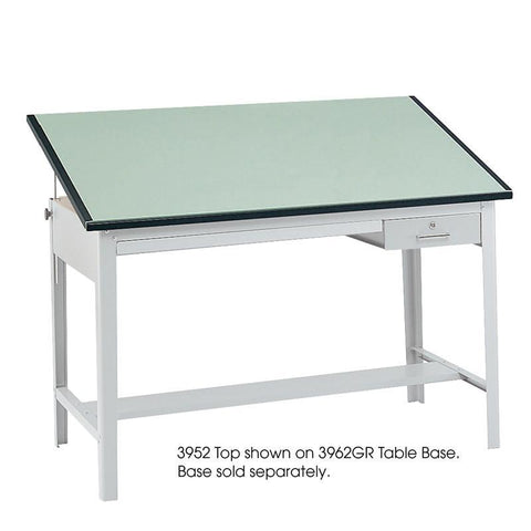 "Safco 3952 Precision Table Top, 60 x 37 1/2"" - Safcomart"