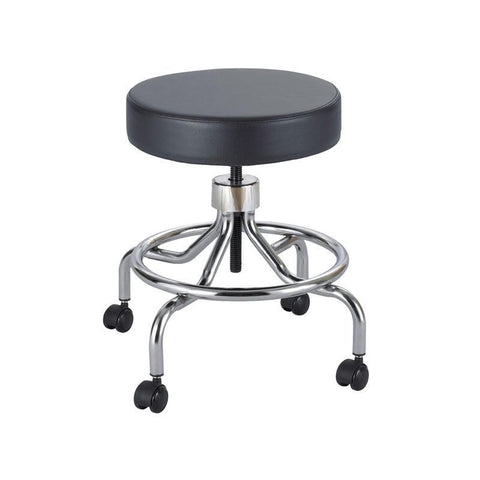 Safco 3432BL Lab Stool, Low Base with Screw Lift - Safcomart