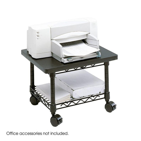 Safco 5206BL Under-Desk Printer/Fax Stand - Peazz Furniture