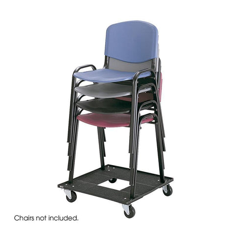 Safco 4188 Stack Chair Cart - Safcomart