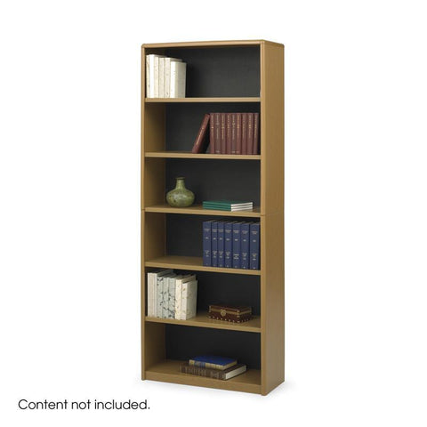 Safco 7174MO 6-Shelf ValueMate® Economy Bookcase - Peazz Furniture