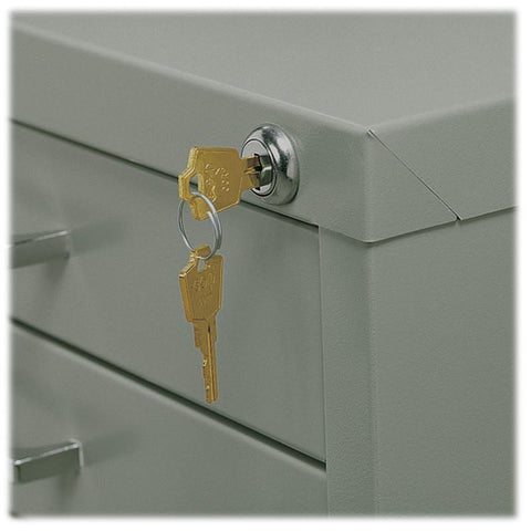 Safco 4983 Lock Kit for 10-Drawer File - Safcomart