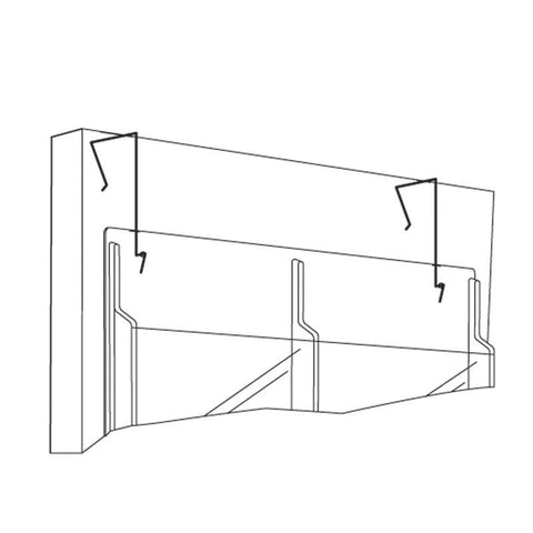 Safco 5661NC Display Wire Hanger - Peazz Furniture