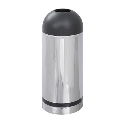 Safco 9871 Reflections By Safco® Open Top Dome Receptacle - Peazz Furniture
