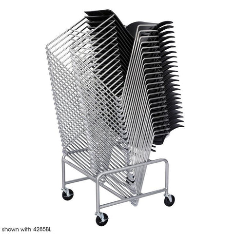 Safco 4190SL Sled Base Stack Chair Cart - Safcomart