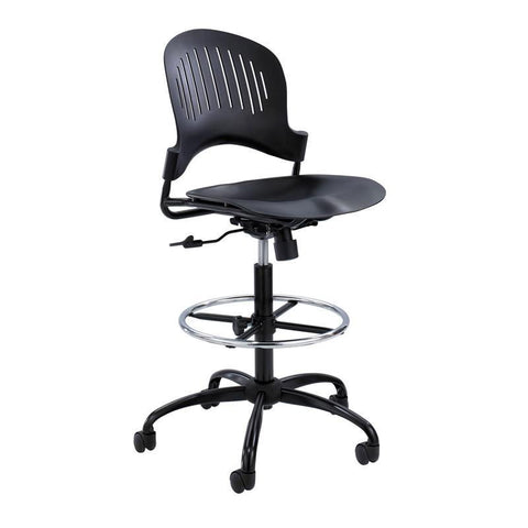 Safco 3386BL Zippi™ Plastic Extended-Height Chair - Safcomart