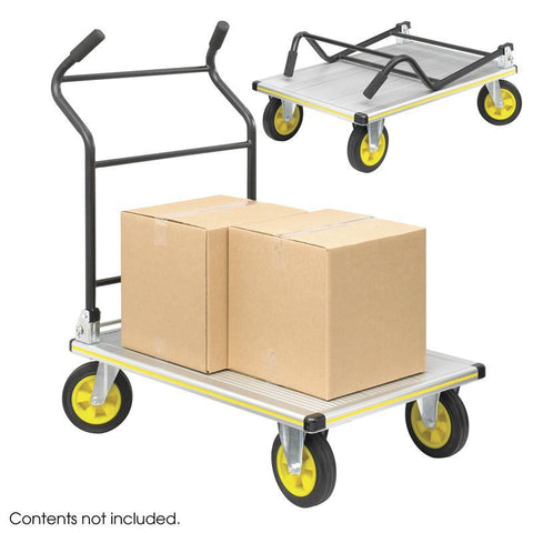 Safco 4053NC STOW AWAY® Platform Trucks - Peazz Furniture