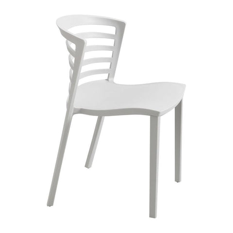 Safco 4359GR Entourage Stack Chair - Grey (qty. 4) - Safcomart