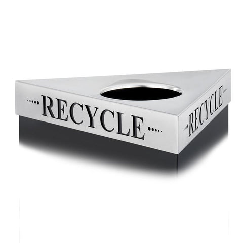 "Safco 9560RE Trifecta® ""Recycle"" Lid - Peazz Furniture"