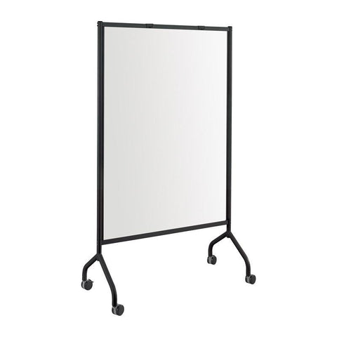 Safco 8511BL Impromptu® Full Whiteboard Screen, 42 x 72 - Peazz Furniture