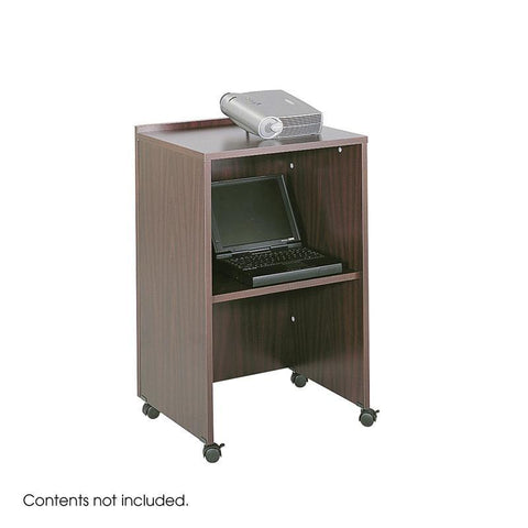 Safco 8917MH Lectern Base/Media Cart - Peazz Furniture