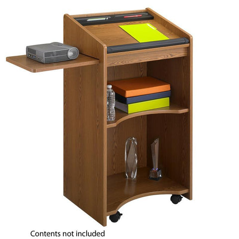 Safco 8918MO Executive Mobile Lectern - Peazz Furniture
