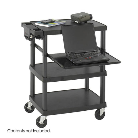 Safco 8929BL Multimedia Projector Cart - Peazz Furniture