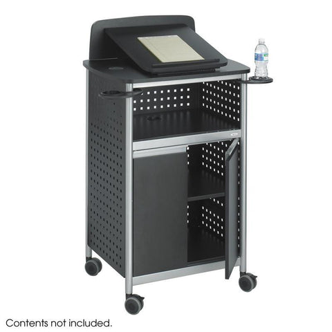 Safco 8922BL Scoot™ Multi-Purpose Lectern - Peazz Furniture