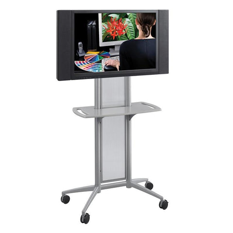 Safco 8926GR Impromptu® Flat Panel TV Cart - Peazz Furniture