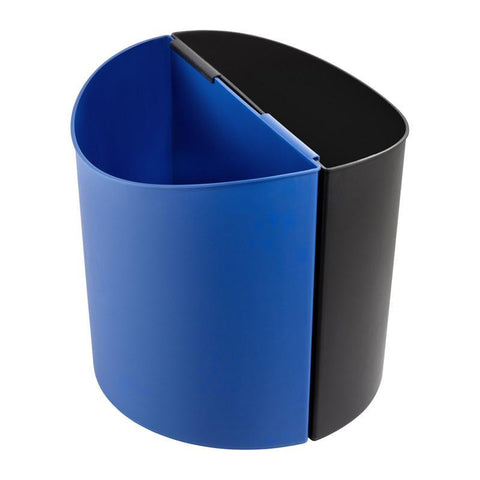 Safco 9928BB Desk-Side Recyling Receptacle-LG - Peazz Furniture