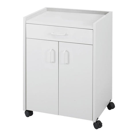 Safco 8954GR Mobile Refreshment Center With Drawer - Peazz Furniture