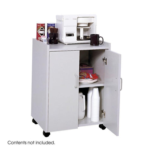 Safco 8953GR Mobile Refreshment Center - Peazz Furniture