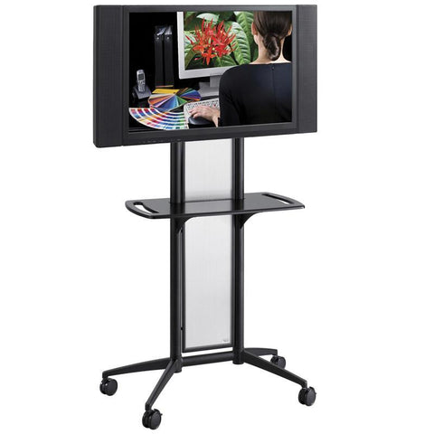 Safco 8926BL Impromptu® Flat Panel TV Cart - Peazz Furniture