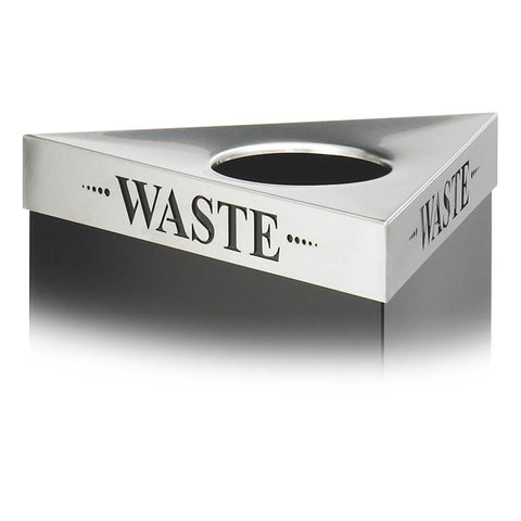 "Safco 9560WA Trifecta® ""Waste"" Lid - Peazz Furniture"