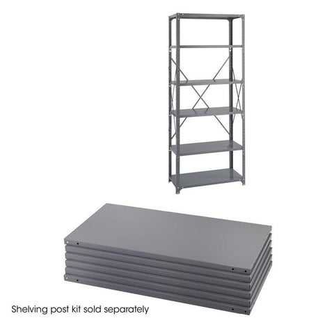 Safco 6252 36 x 18 Industrial 6 Shelf Pack - Peazz Furniture