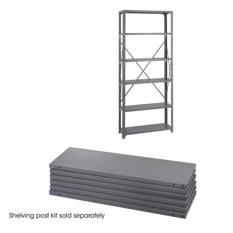 Safco 6250 36 x 12 Industrial 6 Shelf Pack - Peazz Furniture
