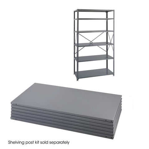 Safco 6254 36 x 24 Industrial 6 Shelf Pack - Peazz Furniture