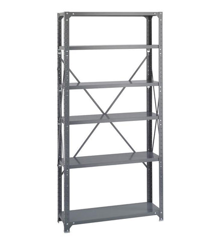 Safco 6268 36 x 12 Commercial 6 Shelf Kit - Peazz Furniture