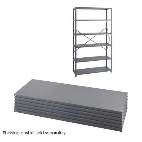 Safco 6253 48 x 18 Industrial 6 Shelf Pack - Peazz Furniture