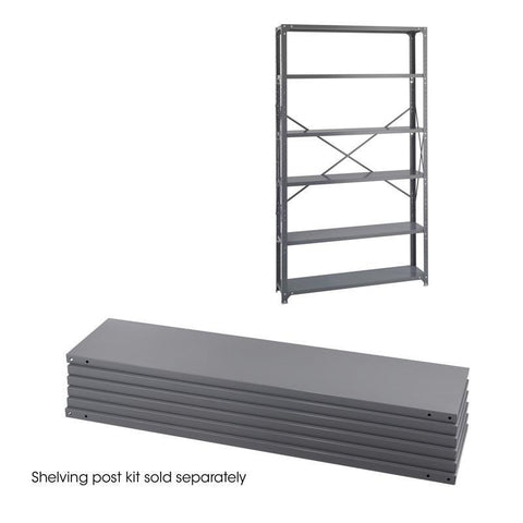 Safco 6251 48 x 12 Industrial 6 Shelf Pack - Peazz Furniture