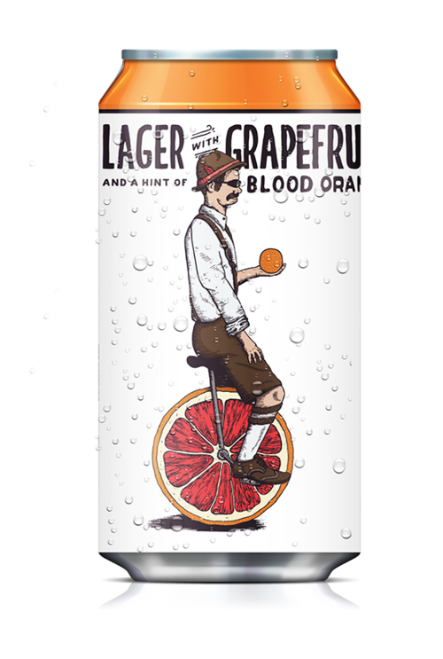 Radler Lager & Grapefruit (355ml)