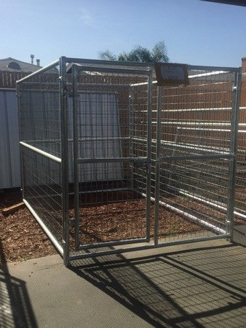 Dog Kennel 6'W x 8'L x 6'H