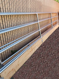24'W x 5'H 4-Rail 1-5/8 Corral Panel W/ Wood-Base