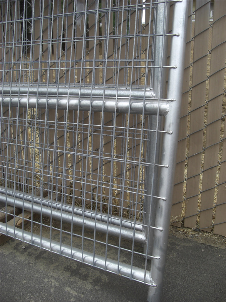 16\'W x 6\'H Welded Wire Corral Panel 4-Rail 1-5/8 – Rarin to Go Corrals