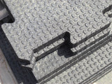 Interlocking Rubber Mat Kit 12' x 24'
