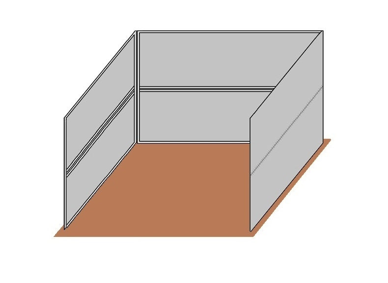 12'D x 12'W Solid Walls Wind Break Kit