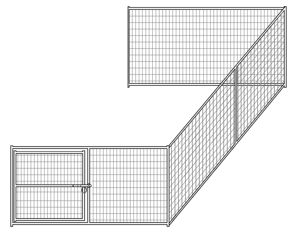 8'W x 16'D Hog Pen Add-On