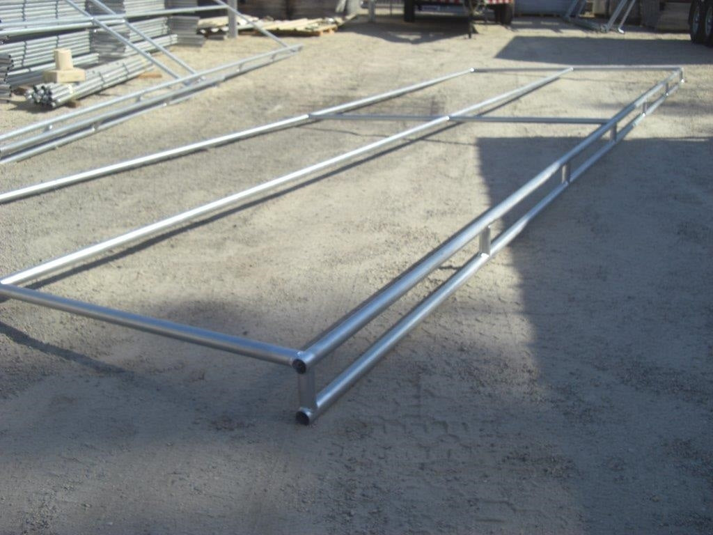8'D x 24'L Shelter Trussed Frame Only