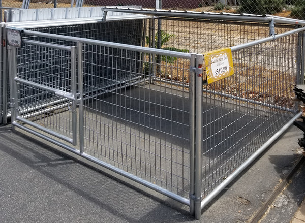 8 X 8 Hog Pen With Shelter Cover Rarin To Go Corrals