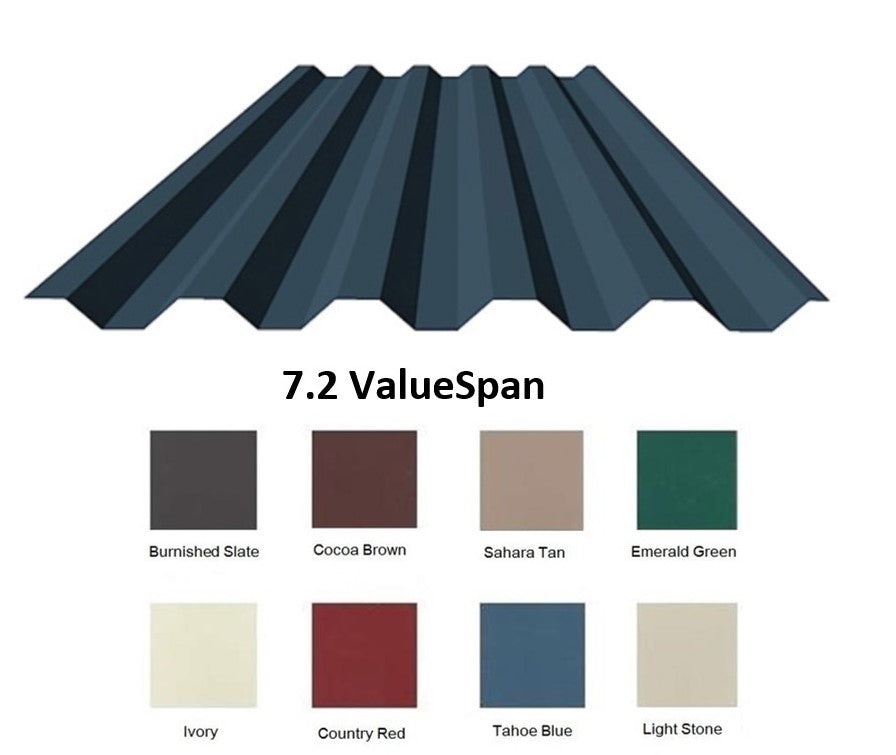 7.2 ValuSpan Roofing Sheet - Color
