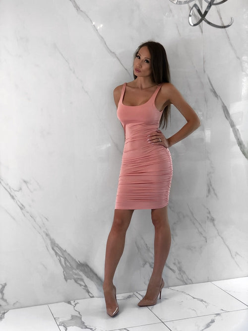 Angie Blush Dress, Women's Blush Dresses